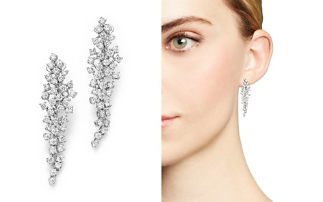 Cascade Diamond Drop Earrings in 14K White Gold, 2.55 ct. t.w. - 100% Exclusive - Bloomingdale's_2